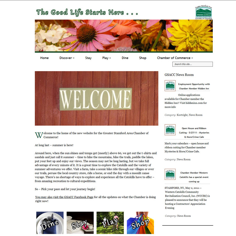 New Site for GSACC | Greater Stamford Area Chamber of Commerce