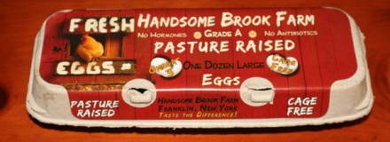Handsome Brook Farm now selling eggs!