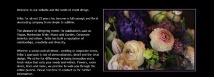 Sviba Floral and Event Decorators