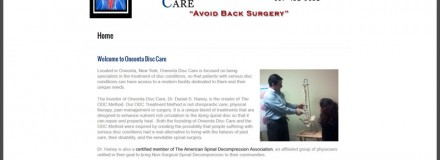 We Welcome Oneonta Disc Care