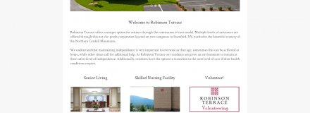 A New Site for Robinson Terrace, Stamford NY